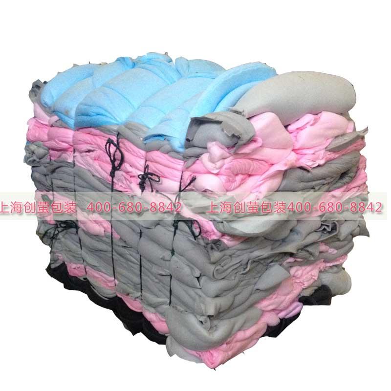 多种海绵废料回收压缩打包机