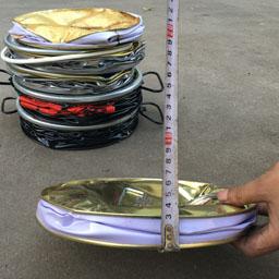 创萤牌铁桶压扁机 常规油漆桶压扁机